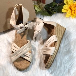 Ugg Women's Traci Espadrille Wedge Sandals 6.5